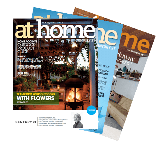 Image of at home magazine
